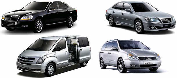 Incheon Airport Limousine - Airport Pickup Service